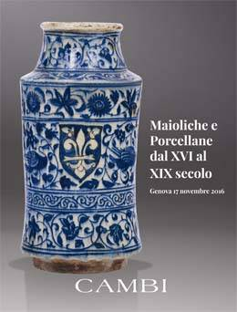 Majolica and porcelain from the 16th to the 19th century