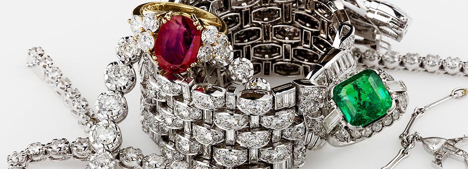拍卖日历-精美的珠宝