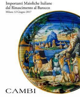 Important Italian Majolica from Renaissance to Baroque