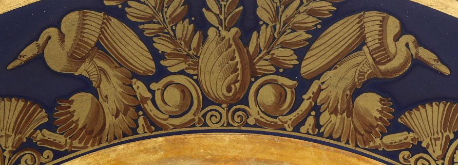 Calendar-Majolica and Porcelains