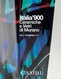 Italia'900 - Ceramiche e vetri di Murano