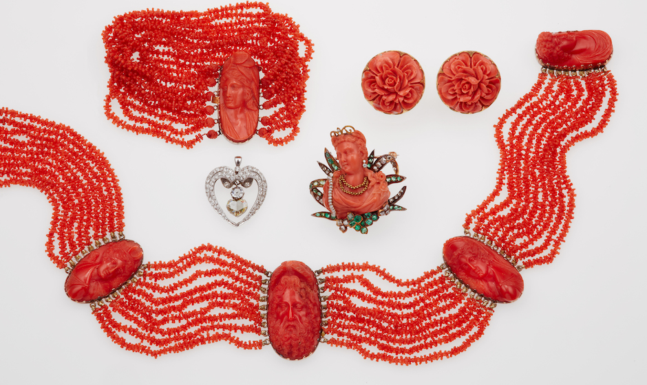 Jewels and Corals | Time Auction