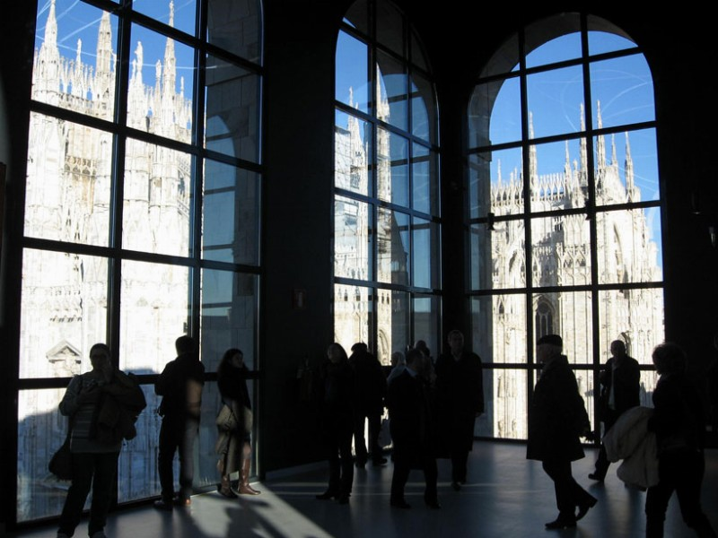 Museo Del 900 Milano.The Museo Del Novecento In Milan Art And Taste With View Of The